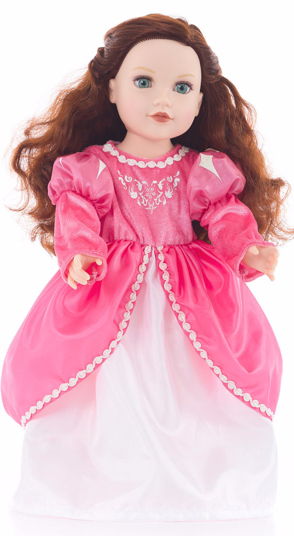 Little Adventures Mermaid Princess Doll Ball Gown