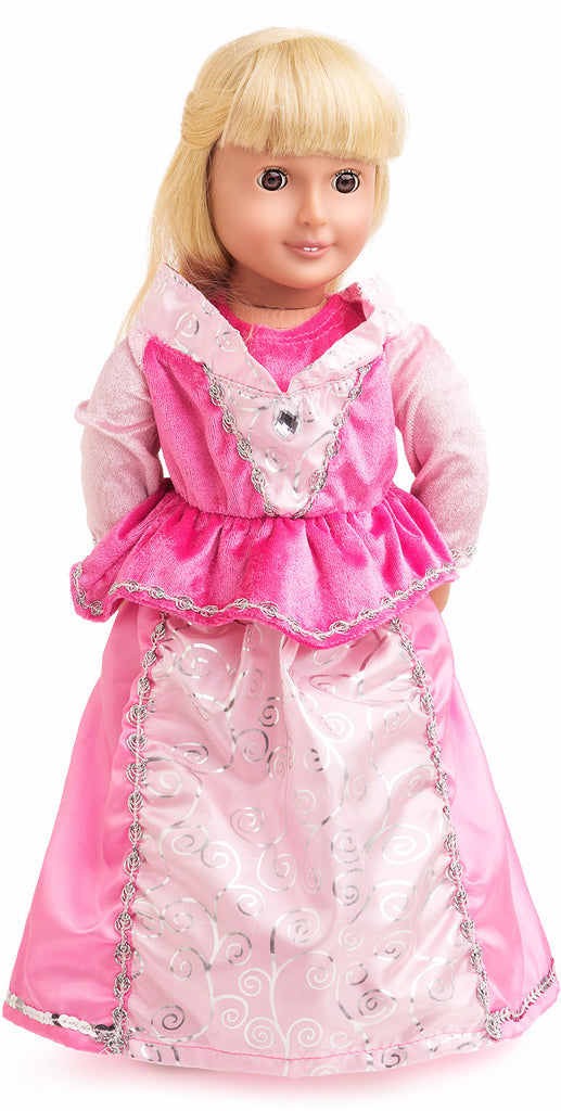 Little Adventures Sleeping Beauty Doll Dress