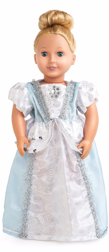 Little Adventures Cinderella Princess Doll Dress
