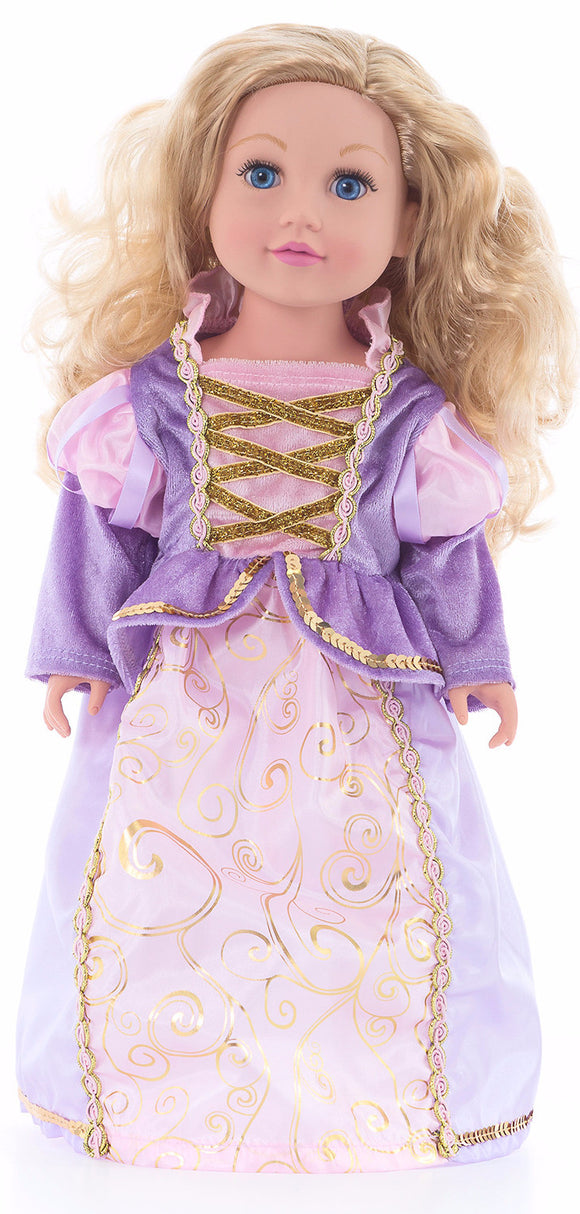 Little Adventures Classic Rapunzel Doll Dress