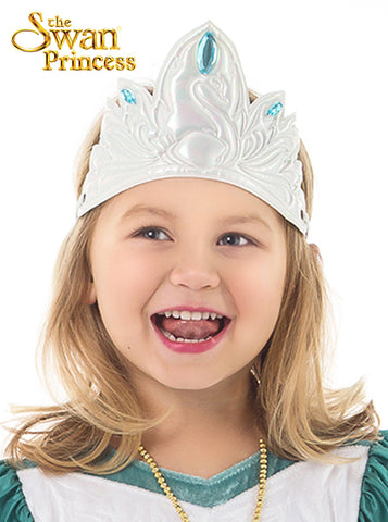 Little Adventures Soft Swan Princess Crown