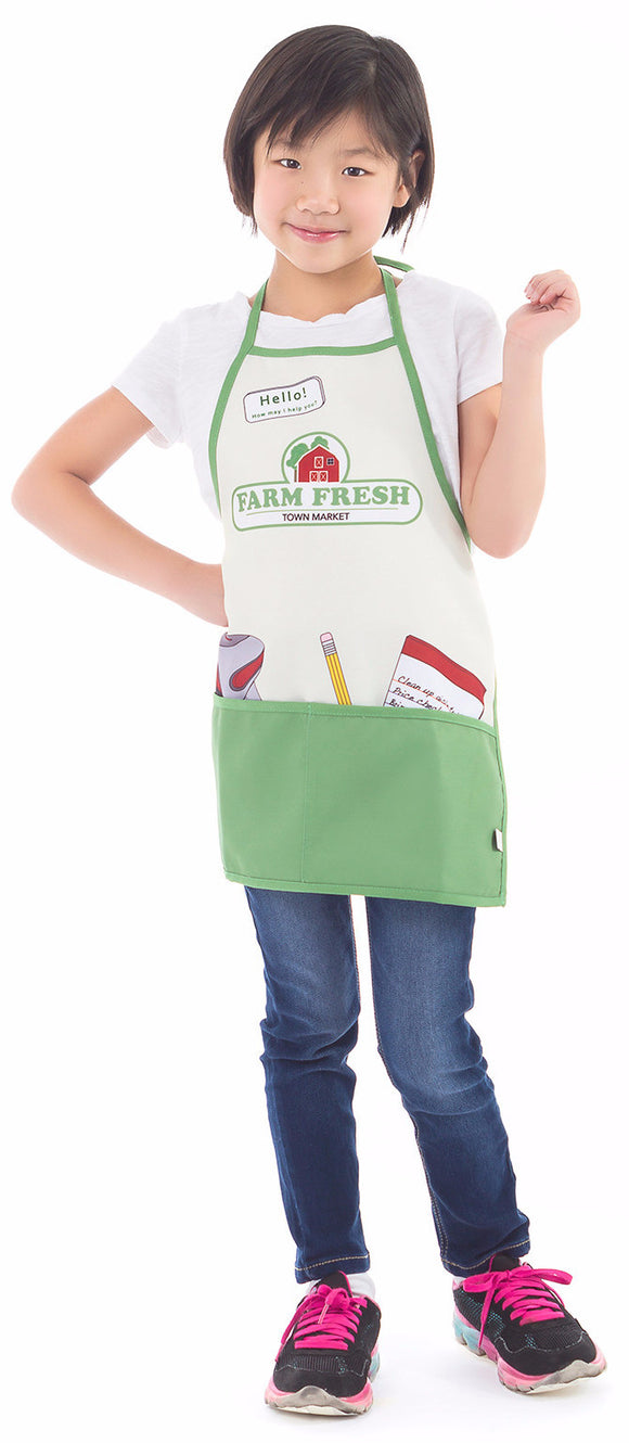 Little Adventures Little Market Apron