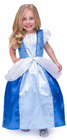 Little Adventures Cinderella Satin Dress Costume
