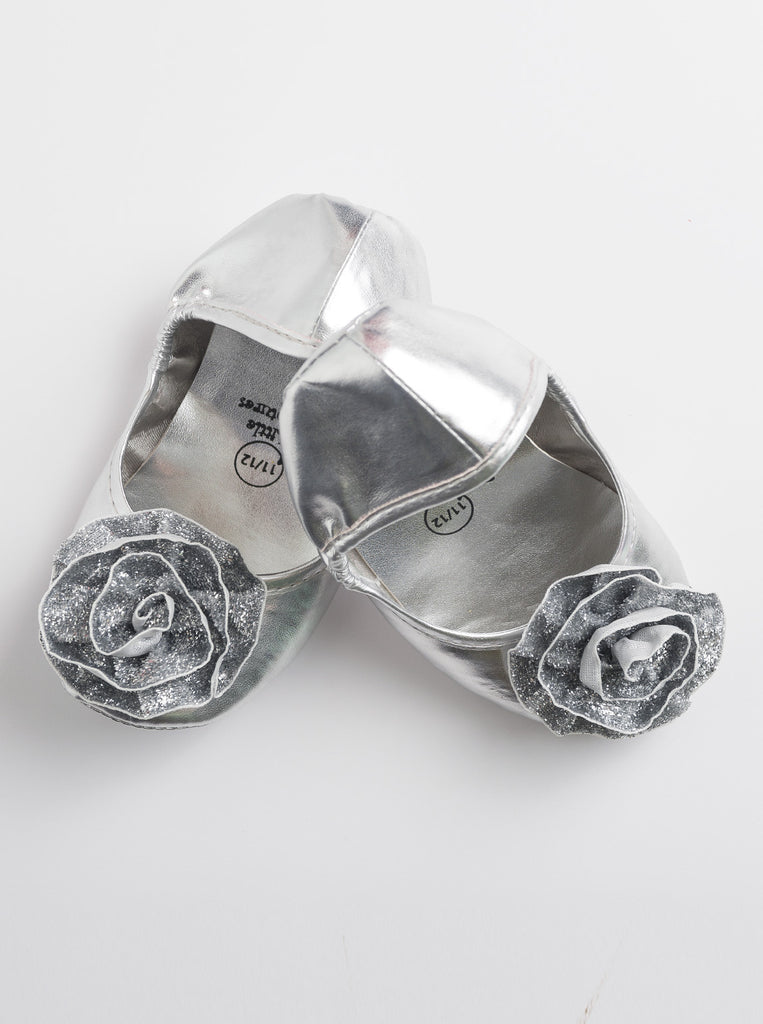 Little Adventures Silver Princess Shoes