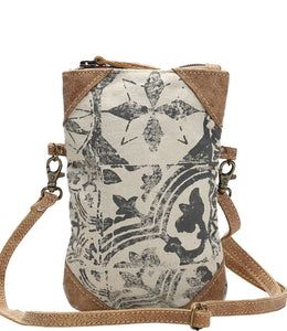Myra Bag Patterns Upcycled Canvas Crossbody Bag S-1157