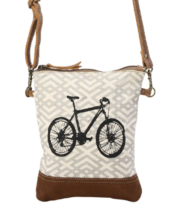 Myra Bag X Design Upcycled Canvas Crossbody Bag S-1194