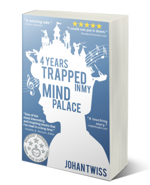 4 Years Trapped in My Mind Palace (signed paperback)