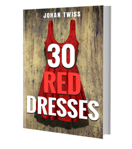 30 Red Dresses (signed paperback)