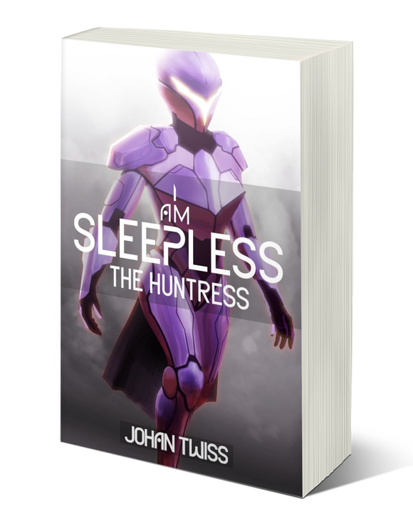 I Am Sleepless: The Huntress - Book 2 (signed paperback)