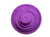 Purple Felt Circles (3/4 to 5 inch)