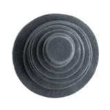Slate Gray Felt Circles (3/4 to 5 inch)