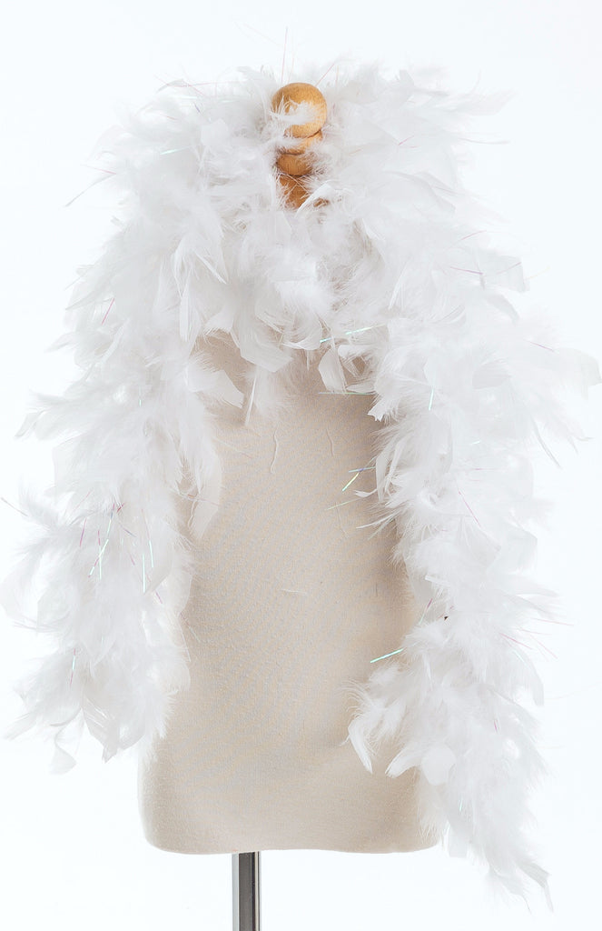 Little Adventures White Feather Boa