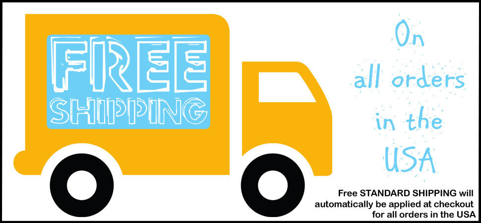 Free Shipping on orders in the United States