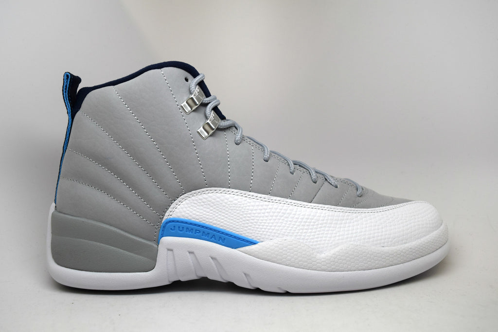 Air Jordan 12 Retro Grey University Blue 2016