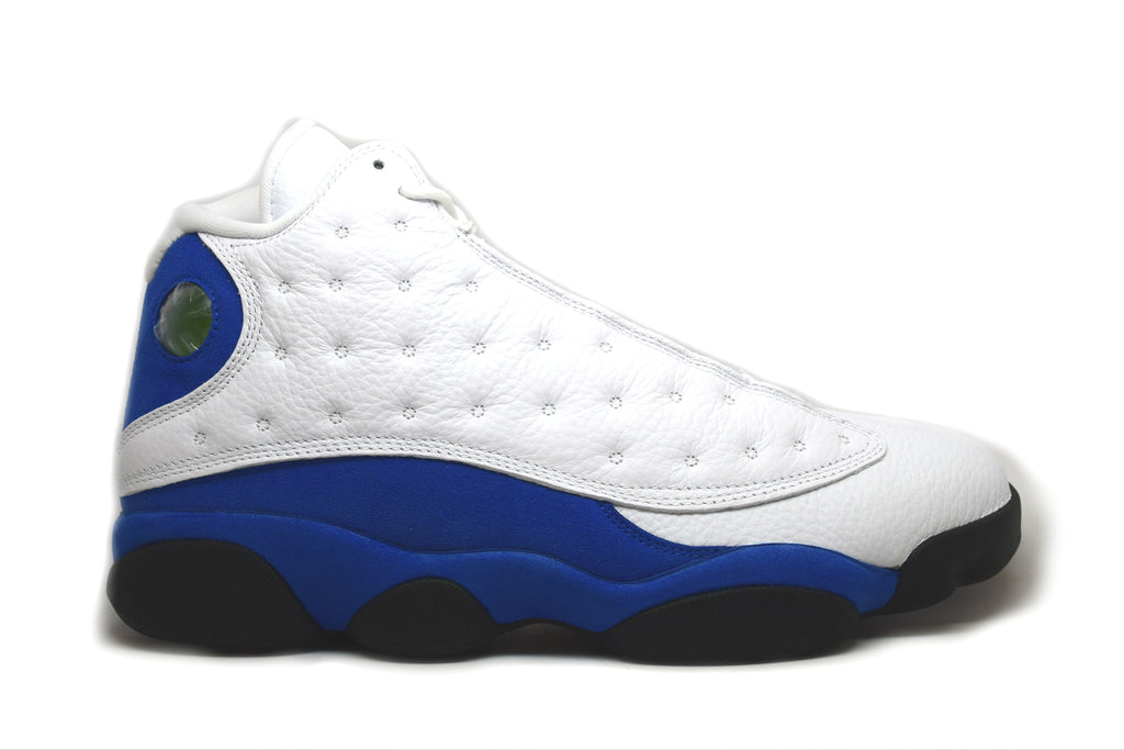 Air Jordan 13 Retro White Hyper Royal Black