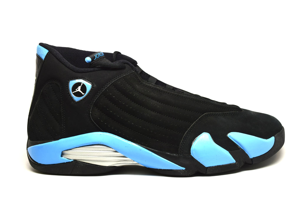 watch f60aa ab4c3 Air Jordan 14 Retro Black University Blue