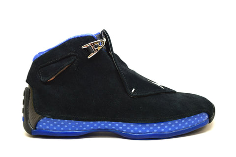 Air Jordan 18 Retro Black Sport Royal 2018