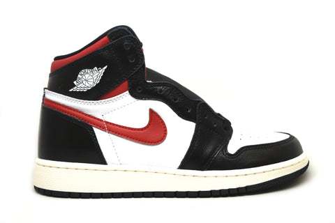 Air Jordan 1 Retro High Black Gym Red GS