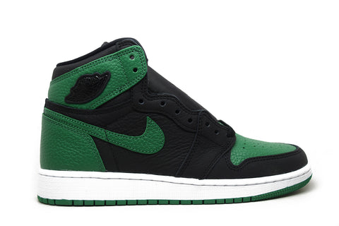 Air Jordan 1 Retro High Pine Green Black GS
