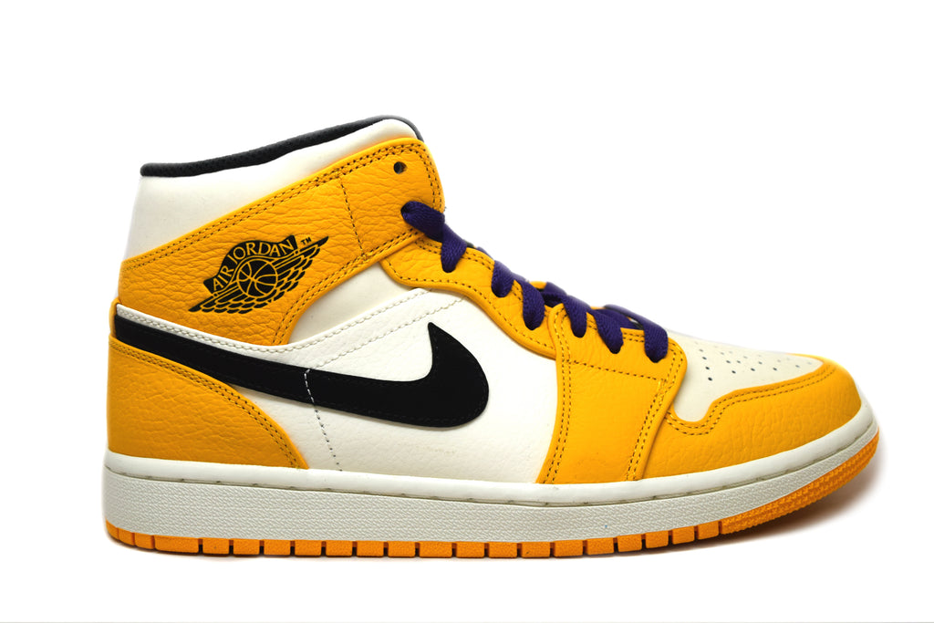 Air Jordan 1 Mid SE Lakers