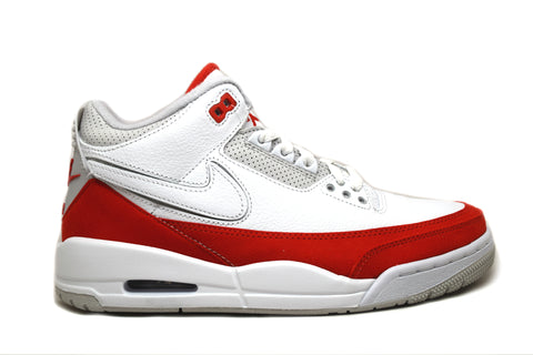 Air Jordan 3 Retro Tinker White University Red