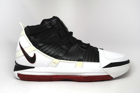 Nike Zoom Lebron 3 White Varsity Red