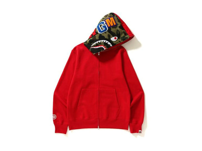 Bape Shark Full Zip Red