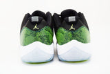 Air Jordan 11 Retro Low Green Snakeskin