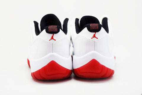 Air Jordan 11 Retro Low White Varsity Red