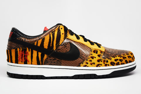 Nike Dunk Low Premium Atmos Safari Beast Pack