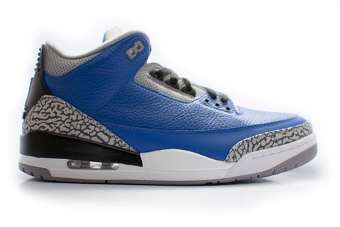 Air Jordan 3 Retro Varsity Royal Cement