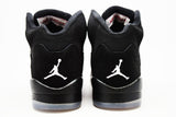 Air Jordan 5 Retro Black Metallic Silver GS