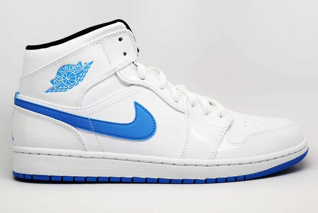 new concept bb28f dd06c cheapest air jordan 1 retro mid legend blue fda04 0808e