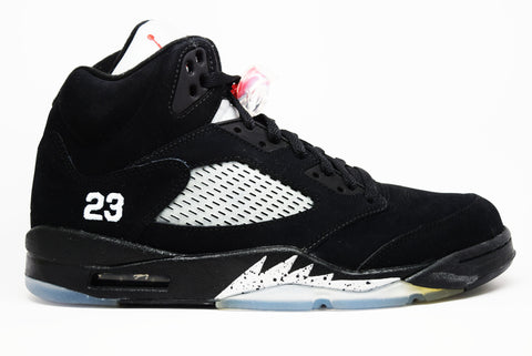 Air Jordan 5 Retro Black Metallic Silver 2011