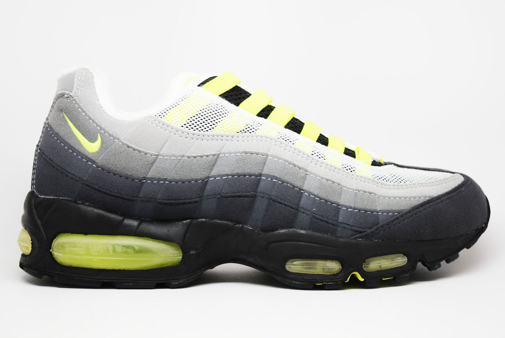 Nike Air Max 95 SC Grey Neon Yellow