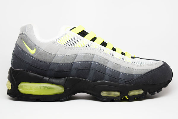 sneakers for cheap 99395 0ccaf Nike Air Max 95 SC Grey Neon Yellow – PRSTG SHOP
