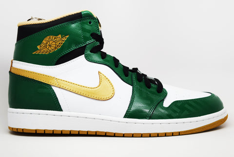 Air Jordan 1 Retro High OG Celtics SVSM Clover