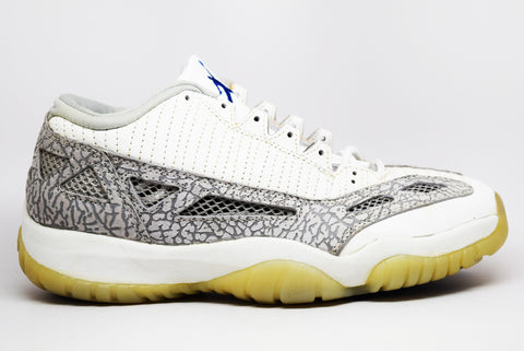 9872f5d003404e Air Jordan 11 Low I.E. OG Grey Cobalt ...