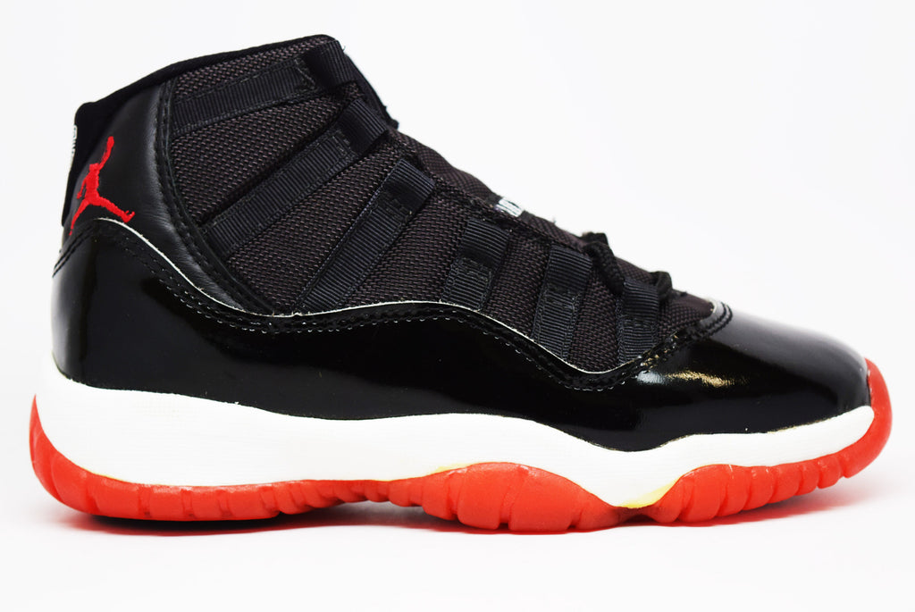 air jordan 11 bred 1995 og gs � prstg shop