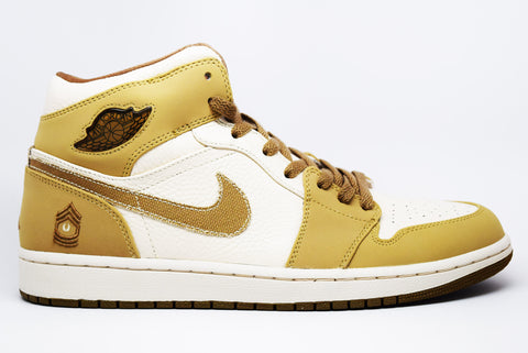 Air Jordan 1 Retro OG NRG Gold Toe 2018
