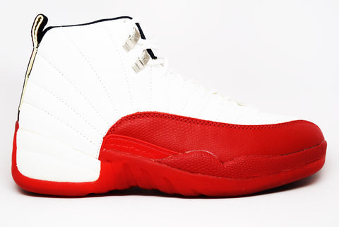 Air Jordan 12 (OG) White Varsity Red Black