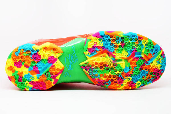 04258b0dd00a4 Nike Lebron 11 Fruity Pebbles  Sample  – PRSTG SHOP