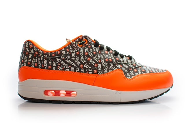 Nike Air Max 1 Just Do It Pack Black Orange
