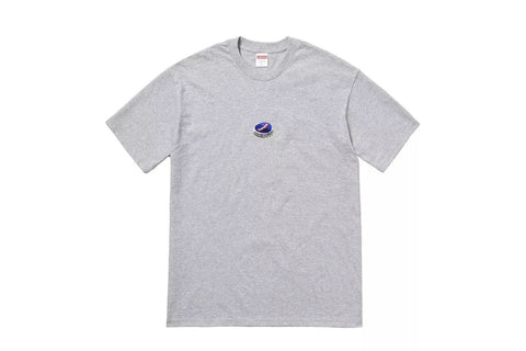 Supreme Bottle Cap Tee Heather Grey