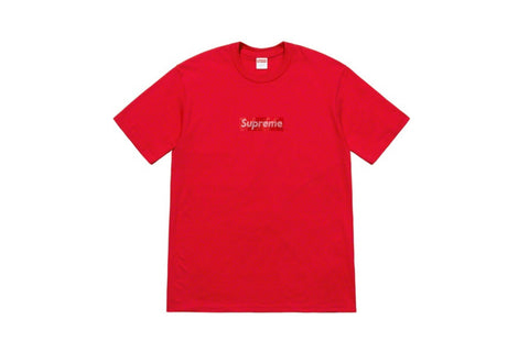 Supreme Comme des Garcons SHIRT Split Box Logo Tee Black