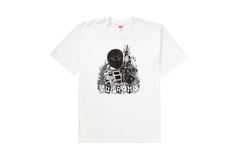 Supreme Mercenary Tee White