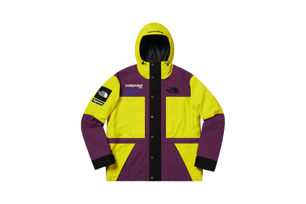 Supreme The North Face Expedition FW18 Jacket Sulphur