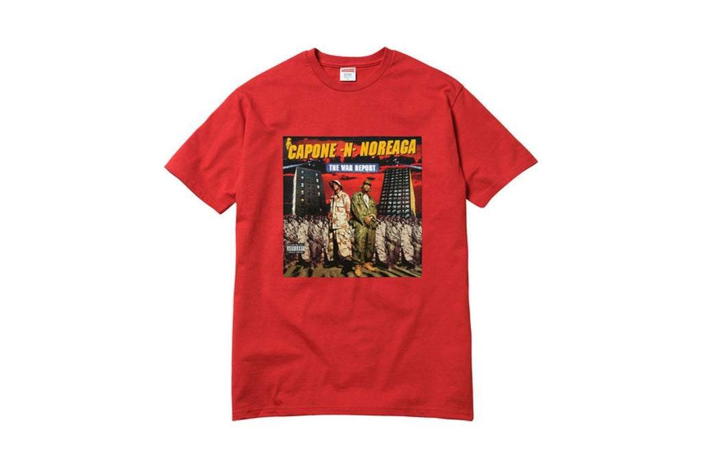 Supreme The War Report Tee Red