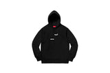 Supreme Comme des Garcons SHIRT Split Box Logo Hooded Sweatshirt Black