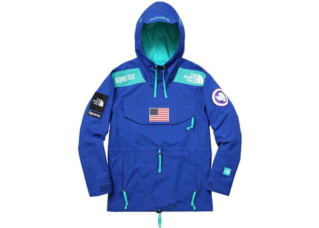Supreme The North Face Trans Antarctica Expedition Pullover Jacket Blue